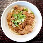 香川製麺所 - 肉ぶっかけ冷