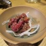 焼肉ホルモンブンゴ - ユッケ