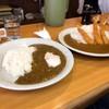 じゅんちゃん - 料理写真:タン・キーマ小盛りとエビフライカレー大盛り