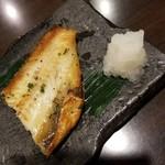 居酒屋 四季の蔵 - ホッケのネギ塩焼き