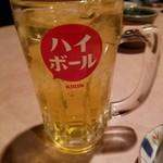 鳥次郎 - 緑茶ハイ