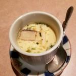 鳥次郎 - お通しの茶碗蒸し