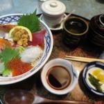 あす花亭 - 海鮮丼セット