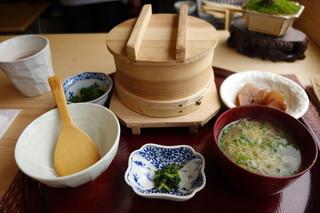 小料理 久原 - 筍ご飯膳