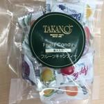 フルーツクチュール タカノ - 高野フルーツキャンデー540円本店バージョン