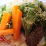 茂ル木 - サラダとピクルス