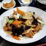 83701406 - 揚げ豚肉と白菜炒め定食780円
