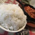コシード - 若鶏のなんとかと大盛ライス