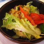 ステーキハウス おおくぼ - サラダ
