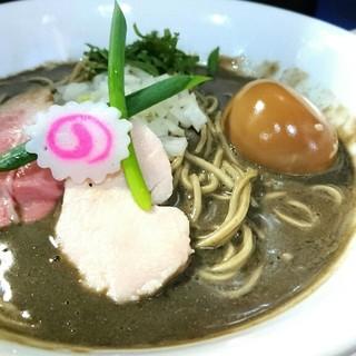 中華そば いづる - 料理写真:濃密な煮干しそば 780円 玉ねぎ増し 100円