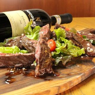 厳選の肉料理をイタリア風に堪能。。。