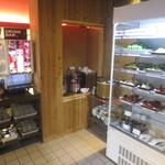 焼肉専門店 義城苑 - 1階サラダバー、ドリンクバー