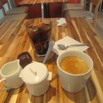 グリーンオアシスカフェ ゼロヨンニー - 有機栽培コーヒー、アイスコーヒー