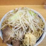 ラーメン二郎 - 料理写真:大ラーメン850円※ニンニク、アブラ