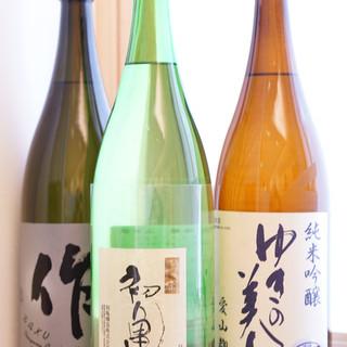 寿司に合う地酒を全国から厳選