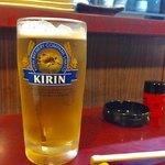 加賀亭みなみ - 生ビール 580円