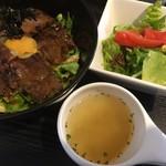 83706609 - ハラミステーキ丼(¥980)