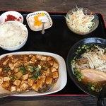 皆楽苑 - 麻婆豆腐ランチ