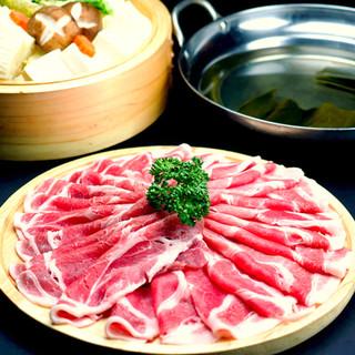 期間限定◆上州豚しゃぶしゃぶ食べ放題3,500円