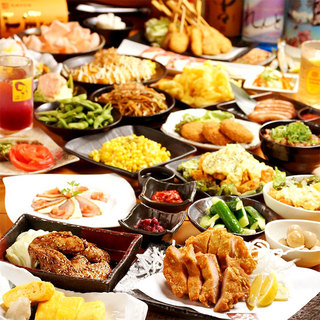 食べて!飲んで!お得な食べ飲み放題プランが3000円♪