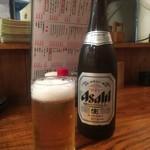 やきとん 三吉 - 瓶ビール(中瓶)\550