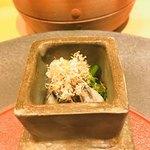 Tempurakisshou - とり貝の炙りクレソン和え