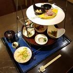 旬香亭ふじ - ランチ「翔 (1500円)」