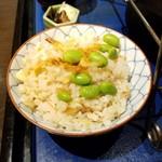 旬香亭ふじ - 炊き込みご飯
