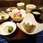 旬香亭ふじ - ランチ「翔 (1500円)」の下段