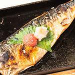 【選べる定食】⑧サバ明太の一枚焼
