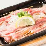 【選べる定食】⑱佐世保流 薄切牛レモンステーキ