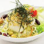 【選べる定食】㉓佐賀トロ豆富とおジャコのヘルシーサラダ