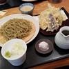 つちや - 料理写真:「野菜天もりそば (1180円)」