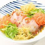 【選べる定食】㉕長崎 鯛のお刺身中華サラダ