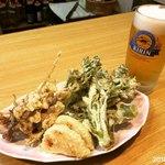 いなほ - 筍、タラの芽、ホタルイカの天ぷら