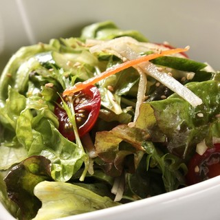 地元長野県産の野菜を使用