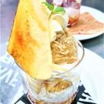 ジュリアーノ - イタリアンマロンアイスとカタラーナのパフェ