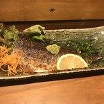 日本酒バル米酒 - 炙りしめ鯖