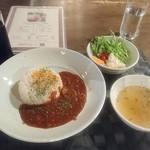 蔵志 - カレーランチ(サラダ・スープ・ドリンク付)900円