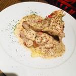 Meat&Wine BEYOND - 鶏モモ肉のロースト マスタードクリームソース