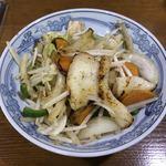 Mitsukobabanodaidokoro - 《イカバター炒め》490円→450円(税別)