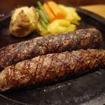 ジョージ - 料理写真:特選牛ハンバーグ(300g)ランチセット