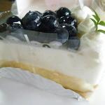美園菓子司  - ブルーベリーのタルト