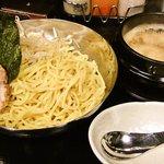 石鍋つけ麺 あつあつ - つけ麺醤油中盛