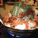 ボンクラ  - ホルモンキムチ鍋