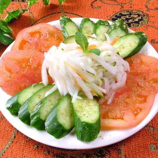 ☆野菜を楽しむならベジタリアンコース☆