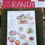 RANDY - 今年のメニュー