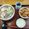 そば処 かつら - 料理写真:かつらそばセット  930円