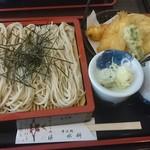 そば処 水科 - 料理写真:天ぷら蕎麦  950円