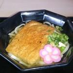 レストラン マンソウ - きつねうどん ¥600